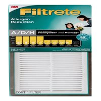 Filtrete Allergen Reduction HEPA-Type Room Air Purifier Filter, Replaces size A/D/H filters