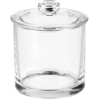 Better Homes and Gardens Glass Bathroom Vanity Apothecary Jar, Small