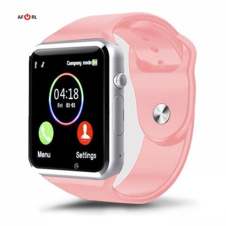 Pink Bluetooth Kids Smart Watch Phone for Android Samsung HTC LG Touch Screen with Camera for Kids (Supports [does not include] SIM+MEMORY CARD) (Best Smart Watches For Kids)