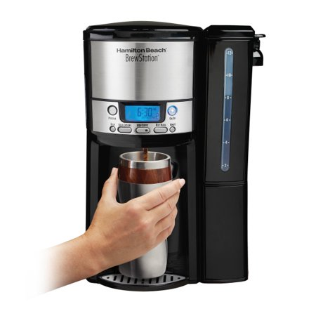 Hamilton Beach BrewStation 12 Cup Dispensing Coffeemaker with Removable Water Reservoir | Model# - Brewstation Coffee