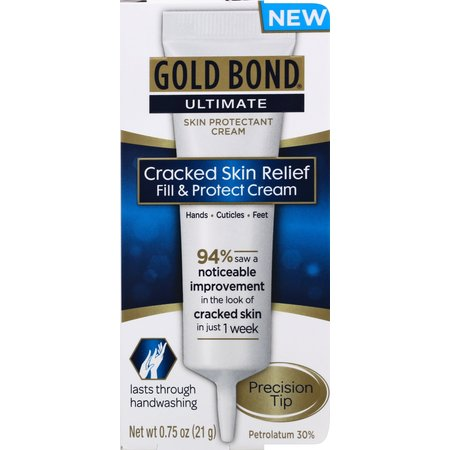 Cracked Skin Relief Cream - GOLD BOND® Ultimate Cracked Skin Fill & Protect Cream 0.75oz