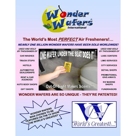 Wonder Wafers 300 CT Individually Wrapped Orange Slice Air -