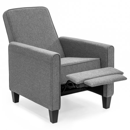 Best Choice Products Modern Sleek Upholstered Fabric Padded