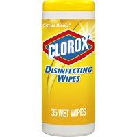 Clorox Disinfecting Wipes, Bleach Free Cleaning Wipes - Crisp Lemon, 35 ct