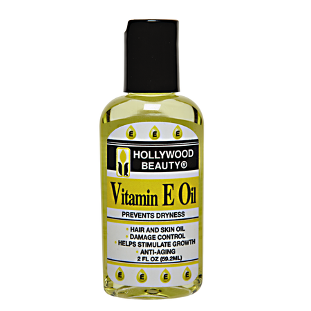 Hollywood Beauty Vitamin E Hair Oil, 2 Oz