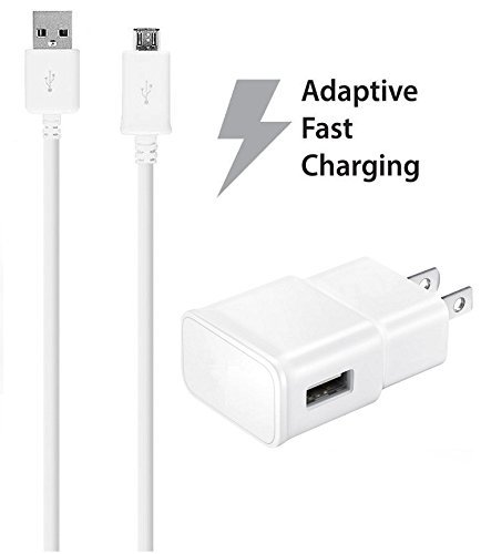 G600 Usb (Huawei Ascend G600 Charger Fast Micro USB 2.0 Cable Kit by Ixir - {Fast Wall Charger + Cable} )