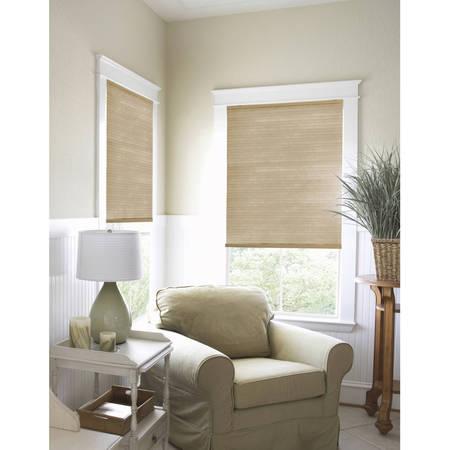 Design View Bamboo Shades (Richfield Studios Cordless Light Filtering Cellular Shade, Chai Latte )