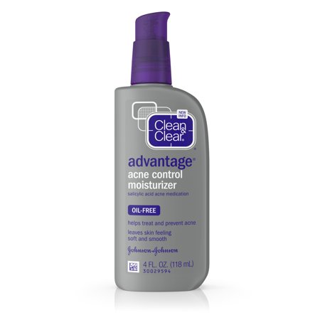 Clean & Clear Advantage Acne Control Oil-Free Face Moisturizer, 4 fl. (Best Acne Dark Spot Remover For Face)