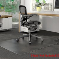 "Ktaxon PVC Matte Desk Office Chair Floor Mat Protector for Hard Wood Floors 48"" x 36"""