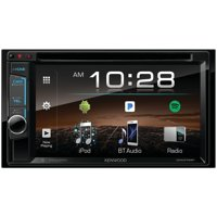 """Kenwood DDX375BT 6.2"""" Double-Din In-Dash DVD Receiver With Bluetooth & SiriusXM Ready"""