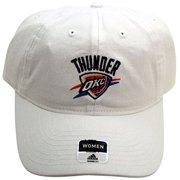 buy popular 92048 97b25 NBA Oklahoma City Thunder Women s Cap Strap Back White