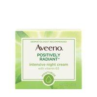 Aveeno Positively Radiant Intensive Moisturizing Night Cream, 1.7 oz
