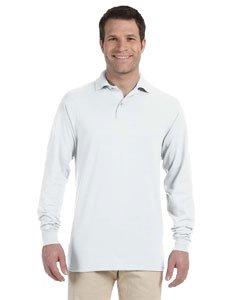 Jerzees Adult 5.6 oz. SpotShield™ Long-Sleeve Jersey Polo