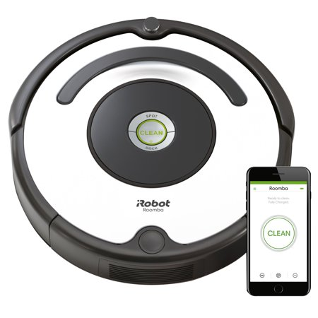 iRobot® Roomba® 670 Robot Vacuum-Wi-Fi Connectivity, Works with Alexa, Good for Pet Hair, Carpets, Hard Floors,