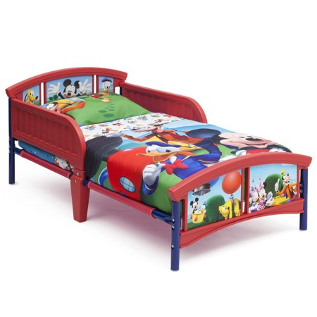 Delta Children Disney Mickey Mouse Plastic Toddler Bed, Multiple Forms - Mickey Mouse Room Ideas