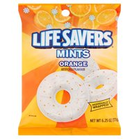 (3 Pack) Life Savers, Orange Mints Hard Candy, 6.25 Oz