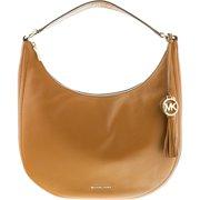 a9d9aaf4fb0b Michael Kors Women's Large Lydia Small Pebble Leather Shoulder Bag Hobo -  Acorn