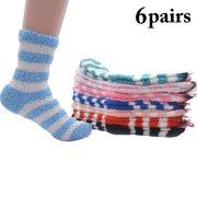 3cbe8bd82 6 Pairs Plush Socks
