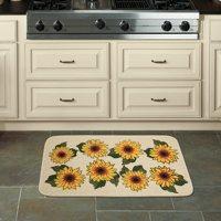 """Mainstays Sunflower Kitchen Mat, 18"""" x 30"""""""