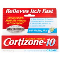 Cortizone 10 Anti-Itch Crème with Aloe 1oz