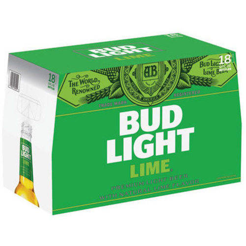 Bud Light Lime Beer, 18 pack, 12 fl oz