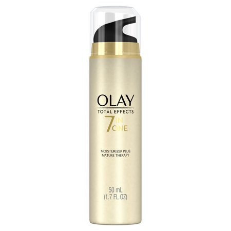 Olay Total Effects 7-in-One Moisturizer Mature Therapy Treatment, 1.7 fl