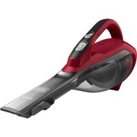 BLACK+DECKER Cordless Lithium Hand Vacuum (Chili Red), HLVA320J26