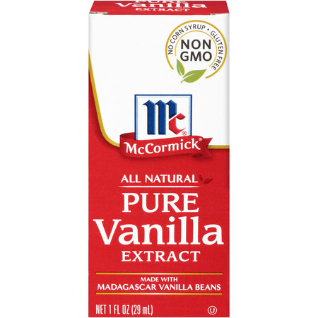 Kosher Vegan Vanilla Extract - McCormick All Natural Pure Vanilla Extract, 1 fl oz