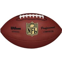 Wilson NFL Pro Replica Official Size Composite Leather Game Football