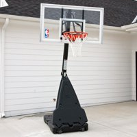 "Spalding 68564 54"" Acrylic Portable Basketball System"
