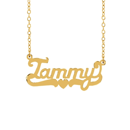 Personalized Sterling Silver or 14K Gold Plated