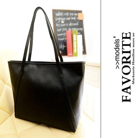 - Women Fashion Tote Bag Large Shoulder Bag Portable Shoulder Shopping Bag