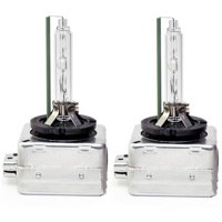 D3S 35W 6000K Color White HID Xenon Replacement Headlight Bulbs Pair x2 NEW