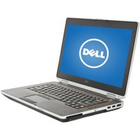 "Refurbished Dell Black 14"" E6420 Laptop PC with Intel Core i5 Processor, 6GB Memory, 320GB Hard Drive and Windows 10 Home"