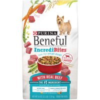 Purina Beneful IncrediBites With Real Beef Adult Dry Dog Food - 3.5 lb. Bag
