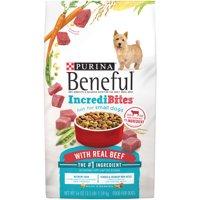 Purina Beneful IncrediBites With Real Beef Adult Dry Dog Food - 3.5 lb. Bag