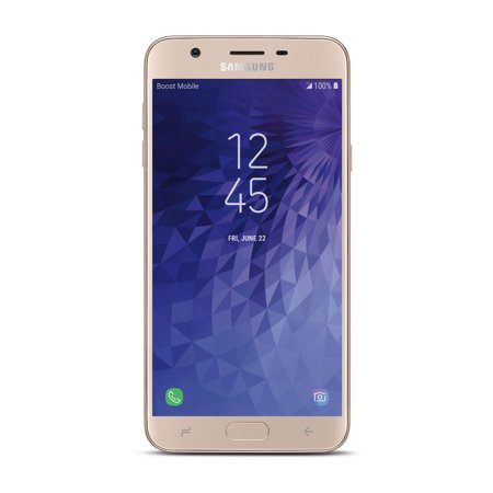 Boost Mobile Samsung J7 Refine 32GB Prepaid Smartphone, Gold