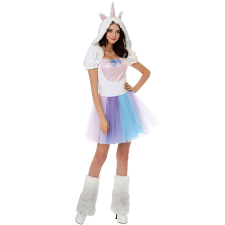 Boo! Inc. Magical Unicorn Halloween Costume for Adults | Great for Parties and Cosplay - Adult Unicorn Halloween Costume