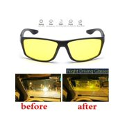 7cfdd6d71d Aimeeli Man Woman Night Driving Glasses Anti Glaring Vision Driver Safety  Sunglasses Classic UV 400 Eye