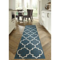 Mainstays Trellis 2-Color Shag Area Rug, Multiple Colors and Sizes