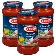 (3 Pack) Barilla® Classic Marinara Tomato Pasta Sauce, 24 oz Jar
