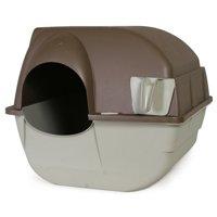 Omega Paw Roll'N Clean Cat Litter Box, Regular