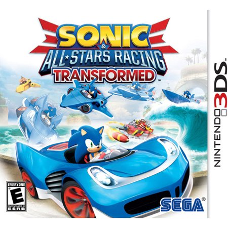 Sonic All Stars Racing Transformed, SEGA, Nintendo 3DS, 010086611083 (Sonic Halloween Racing)