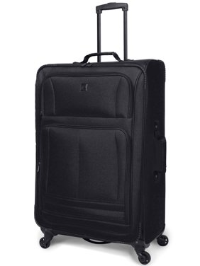 "Protege 28"" Elliptic 4-Wheel Light Weight Spinner Luggage, Black"