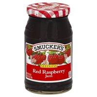 (2 Pack) Smucker's Seedless Red Raspberry Jam, 18-Ounce