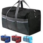 b3b1a436f0 REDCAMP Extra Large 31'' Duffle Bag 96L Blue Lightweight, Waterproof Travel Duffel  Bag