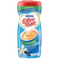 (6 Pack) COFFEE-MATE Sugar Free French Vanilla Powder Coffee Creamer 10.2 oz. Canister