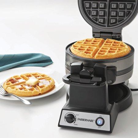 Farberware Flip Double Waffle Maker Walmart