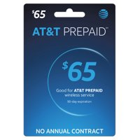 AT&T PREPAID℠ $65 Refill (Email Delivery)