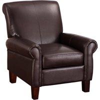 Dorel Living Faux Leather Club Chair, Multiple Colors